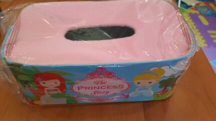 Princess tissue box or frozen tissue box solid material  Ryde Ryde Area Preview
