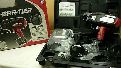 Max Rb398 Rebar Tier 14.4 Vt Rebar Tying Tool Up To 6x5 W 5 Cases Tw898-apc