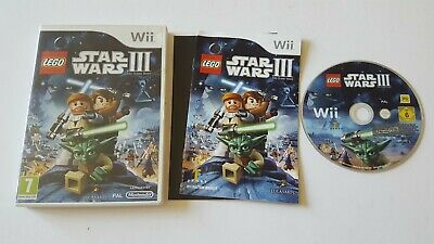 LEGO STAR WARS III 3 THE CLONE WARS NINTENDO WII / WII U GAME KIDS CHILDRENS