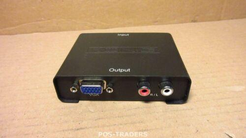 KONIG KN-HDMICON26 HDMI Converter HDMI Input - VGA Female + 2x RCA Female