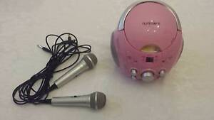 Karaoke machine with 2 microphones and bonus CD Bassendean Bassendean Area Preview