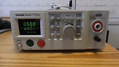 Gw Instek Gpi-825 Hi-pot Insulation Tester As-is Read