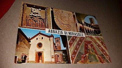 Postcard Italy Mirasole Abbey Abbazia Di Mirasole