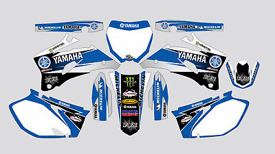 PARTS UNLIMITED YAMAHA YZF 250-450 2006-2009 DECAL STICKER GRAPHIC KIT Parts Unlimited Decals