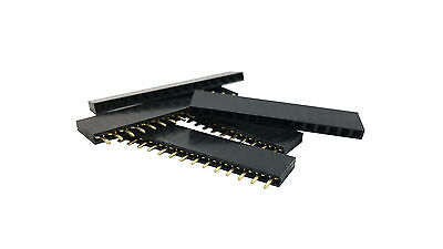 20pcs 2.54mm Pitch 0.1 1x15 15 Pin 15p Female Dupont Header Arduino Nano Headers