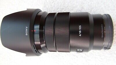 Sony G-Series E PZ 18–105 mm F4 G OSS Lens for Sony (SELP18105G) - POWER ZOOM