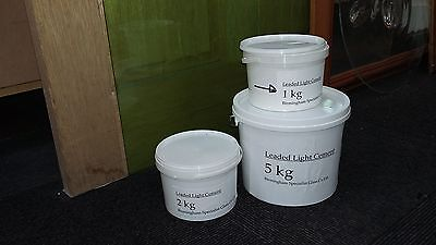 900gms cement for leaded lights & 150g whiting (incl. gloves and inst)