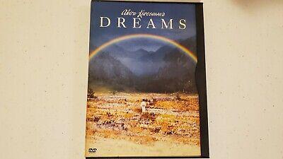 Akira Kurosawa's dreams 1990 dvd rare snapcase