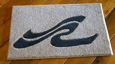 CUSTOM INLAID WITH CARVED DETAIL SEA RAY CARPET BOAT BEACH POOL INTERIORS