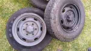 Haida Tyres with 6 stud steel rims. Theodore Tuggeranong Preview