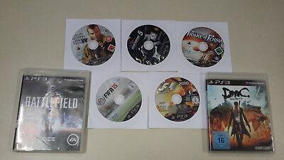 7x Xbox 360 Spiele Sammlung Paket