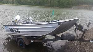 Stessl Edgetracker..20HP 4 stroke Honda..PRICE REDUCED Kawungan Fraser Coast Preview