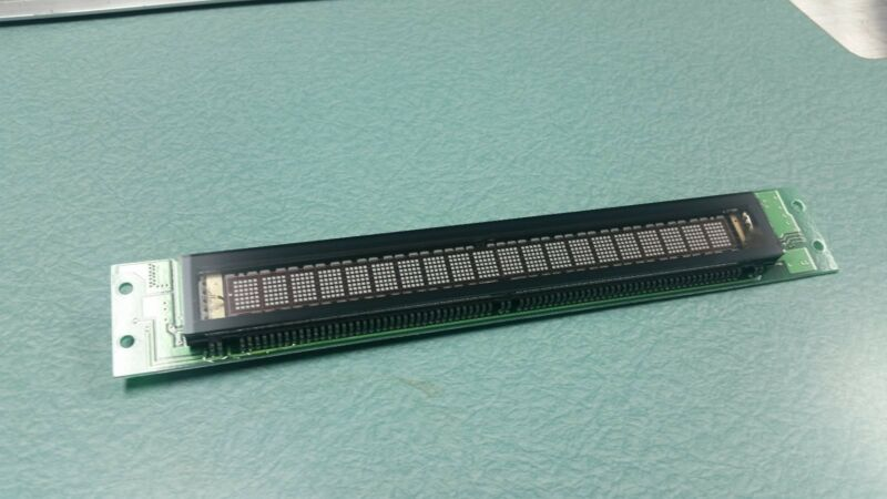 LCD / VFD Display for Tajima Embroidery Machines and other Equipment