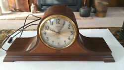 ANTIQUE REVERE ELECTRIC TELECHRON MANTEL CLOCK - WESTMINSTER CHIMES