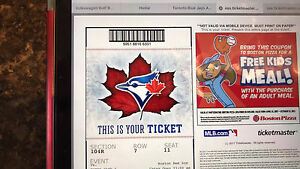 Canada Day Weekend Blue Jay Tickets
