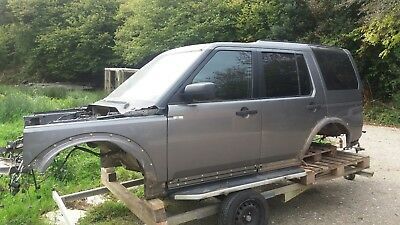 Land Rover Discovery 3 4 Bodyshell Doors Wings Glass Tail STORNOWAY Grey Salvage