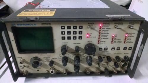Motorola R-2015DI/HS Communications System Analyzer USED