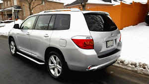 Top of line Luxury Limited Edition 2008 Highlander Navigation