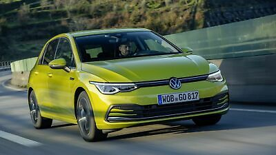 VW Golf 8 in Frontansicht
