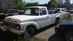 Trade 1963 ford f100 custom cab for seadoos or wave runner