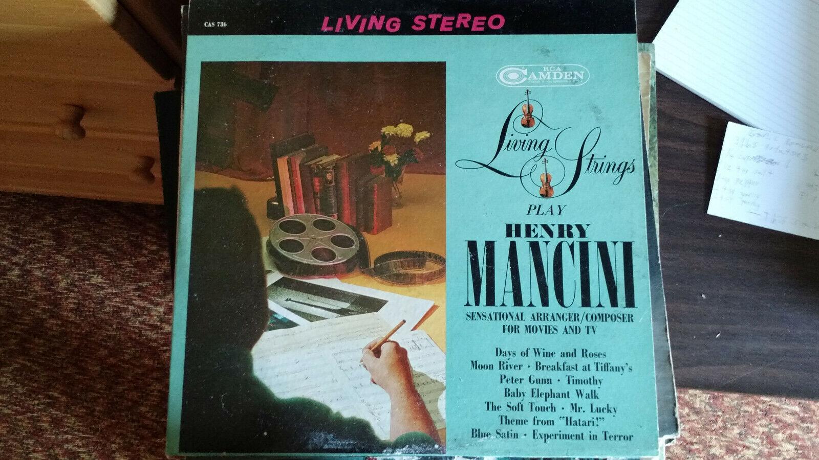 Living Strings Play Henry Mancini Record - $1.39
