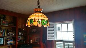 Stained glass hanging fixture!