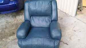 Leather chair- Recliner- Blue- Maudsland Gold Coast West Preview