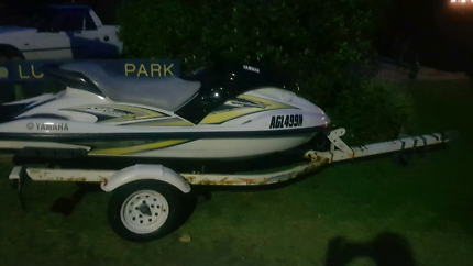 Jet Ski Trailer 11 mths rego - major rust and structural failure