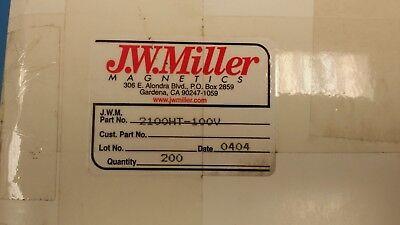 3A +15/% 850UH 5 pieces BOURNS JW MILLER 7111-RC CHOKE