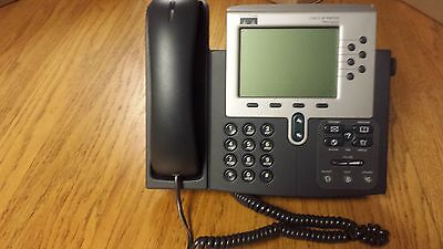 Cisco 7960 Series Cp 7960g Ip Voip Display 6-line Business Phone