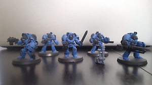 Warhammer 40k space marines terminators Nowra Nowra-Bomaderry Preview