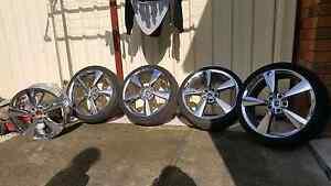 Toyota supra chrome wheels size 19 Broadmeadows Hume Area Preview