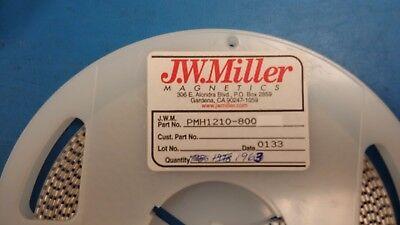 25 Pcs Pmh1210-800 Jw Miller Ferrite Beads 80 Ohms 25
