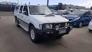2002 Holden Rodeo LT SPORT Duel Cab Ute TURBO DIESEL 4x4 Williamstown North Hobsons Bay Area Preview