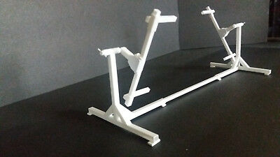 """NEW STYLE"" Model Car Auto Body rotisserie Lift 1:24 1:25 scale Diorama"