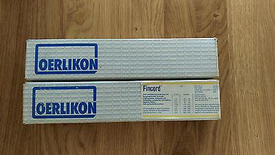 Oerlikon Fincord Elektrode Rutilelektrode 200 Stück 2,5x250 OVP und NEU