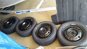 Selling 4 tyres from my Subaru impreza Thornlands Redland Area Preview