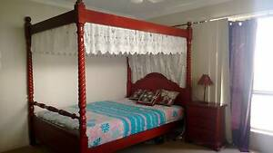 Queen bed suite with bedside and huge dresser Springfield Lakes Ipswich City Preview