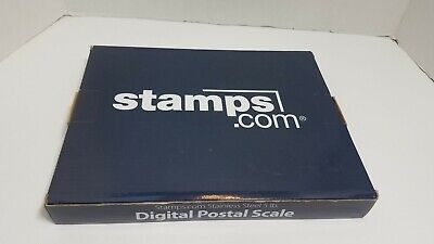 2 Stamps.com 5 Lb Pound Stainless Steel Usb Digital Postal Scale New Used Lot