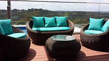 Quality Round Wicker Rattan Outdoor Furniture Sofa  Set Beaconsfield Upper Cardinia Area Preview