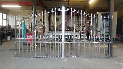 Heavy duty custom made wrought iron gates Design HG4,  Free delivery