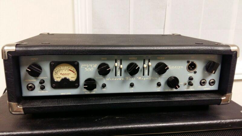 Ashdown ABM300 EVOII Bass Guitar Amplifier head