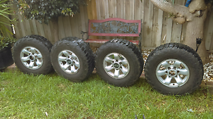 6stud mud tyres and rims Werribee Wyndham Area Preview