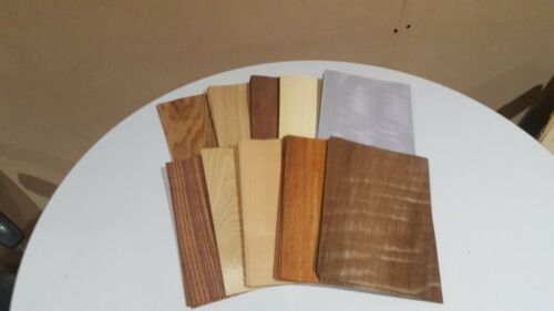 Wood+Veneer+Sample+Pack+-+10+PIECES+220mm+x+150mm+-+for+marquetry+-+Pack+82