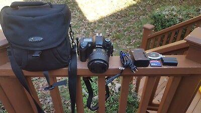 Nikon D70S Digital SLR Camera 18-70mm Nikkor Lens Case Charger Mem Card X Batty for sale  Shipping to Canada