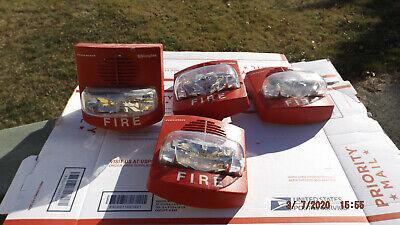 1 Simplex 4906-9127 Fire Alarm Strobe Lights