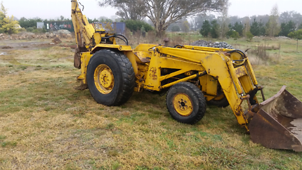 farm backhoe and loader sell swap or hire