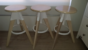 3 x counter stools Ramsgate Beach Rockdale Area Preview