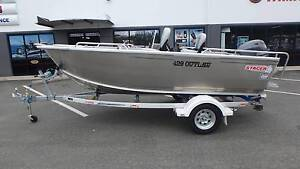2016 STACER 429 OUTLAW SIDE CONSOLE + YAMAHA 50HP 4-STROKE Boondall Brisbane North East Preview