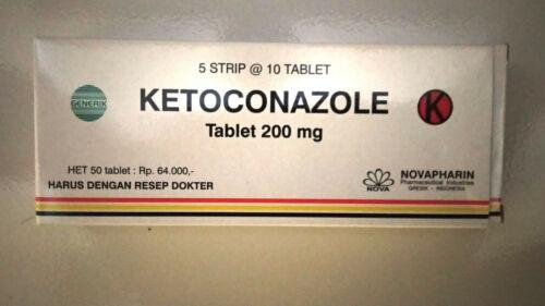 New !! for Ket0c0nazole tablets Antifungal 200mg 50 tablets 100% Original